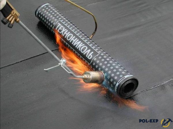 Подготовка рулонного теплоизоляционного материала «горячего» нанесения