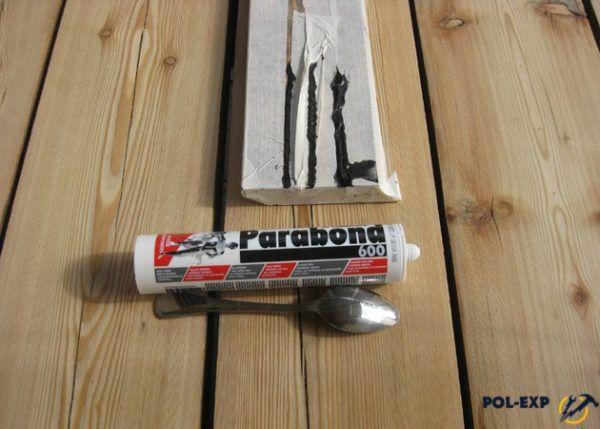 Применение герметика для деревянного пола
