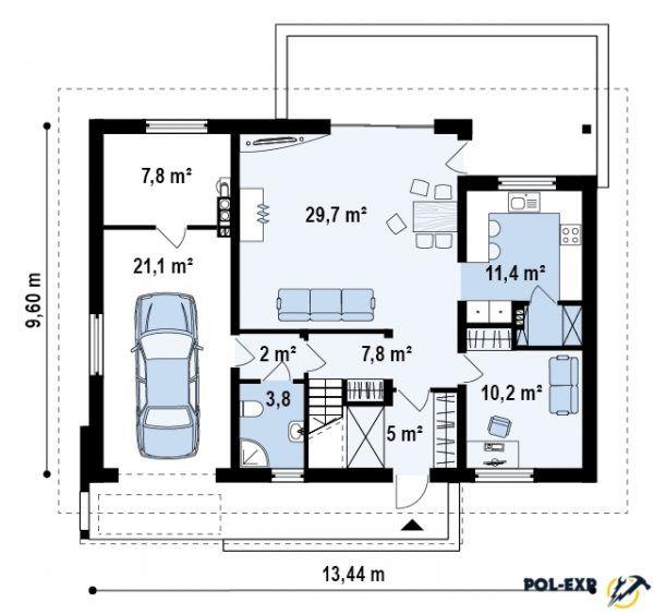 Пример проекта частного дома