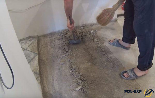 Уборка строительного мусора