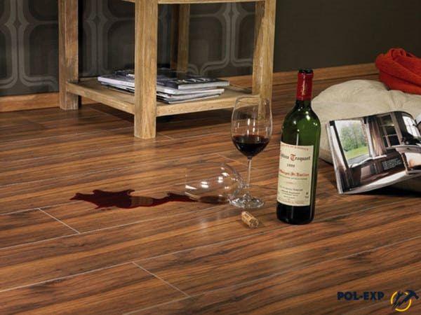 Вино на ламинате