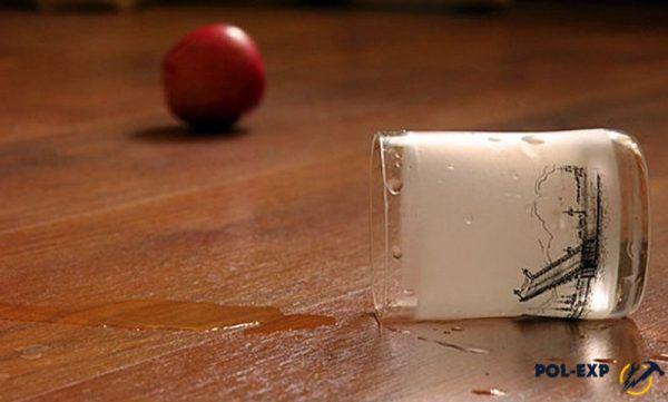 Водостойкий ламинат оптимален для кухни и ванной комнаты