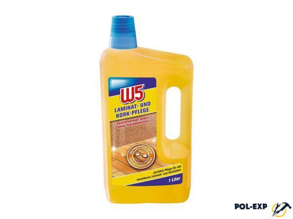 W5 - средство для мытья ламината и пробкового дерева
