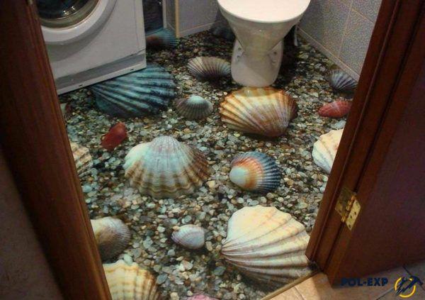 ЗD в туалете