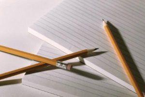Бумага и ручка/карандаш
