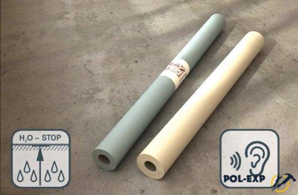 Гидроизоляционный материал и подложка
