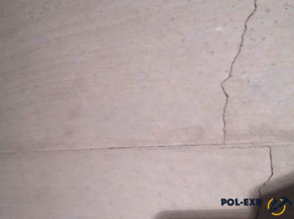 Трещины и отслоения более прочного верхнего слоя