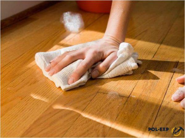 Грязь, пыль и влагу нужно убирать сразу
