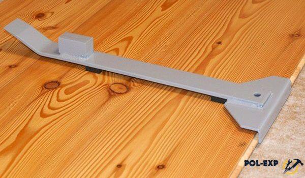Инструмент для ламината - металлическая скоба