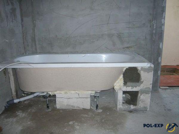Как поднять пол в ванной