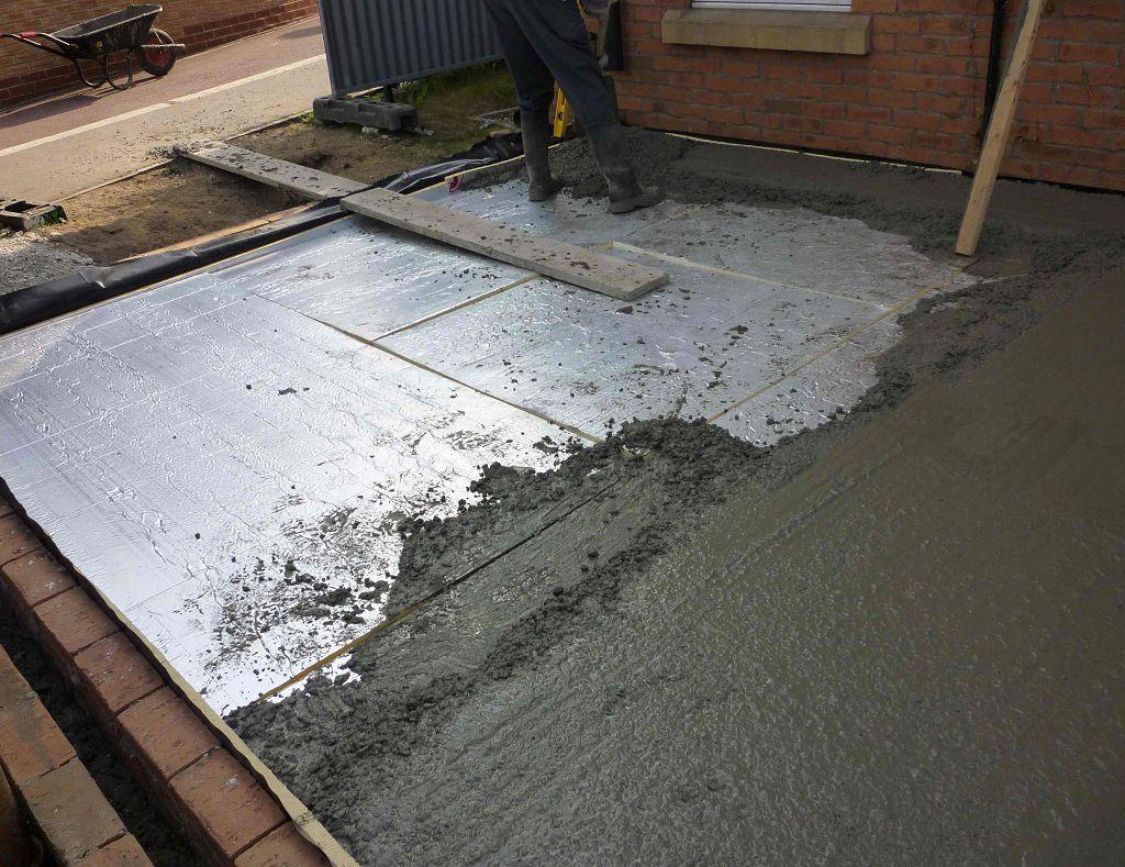 Утеплить бетонные полы в частном доме своими руками 52