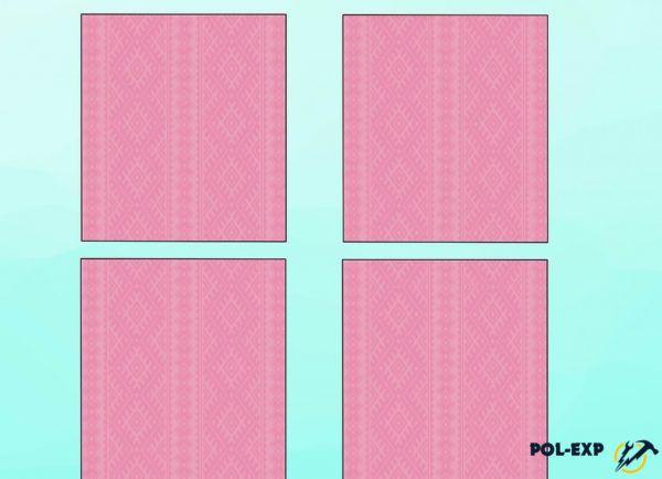 Комната разделена на 4 прямоугольника