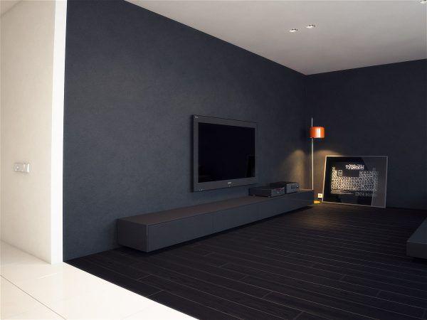 Минимализм в квартире. Оттенки черного