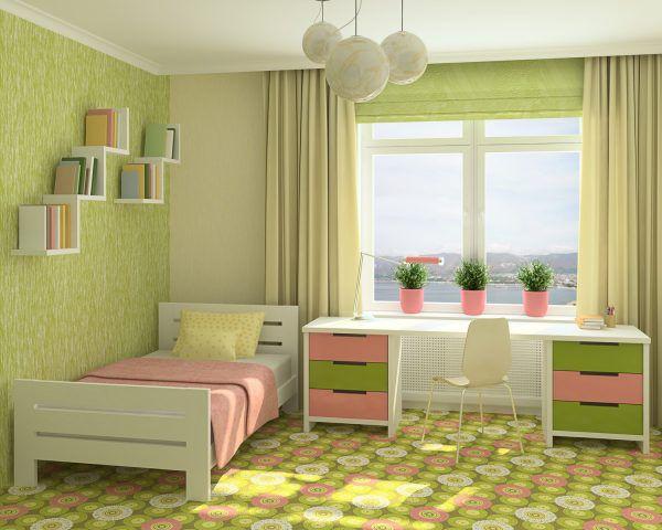 Органично оформленная детская комната