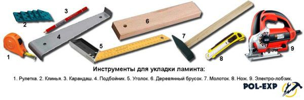 Полный список инструментов