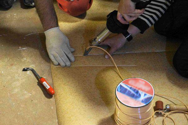 Шнур для стыковки полотен линолеума