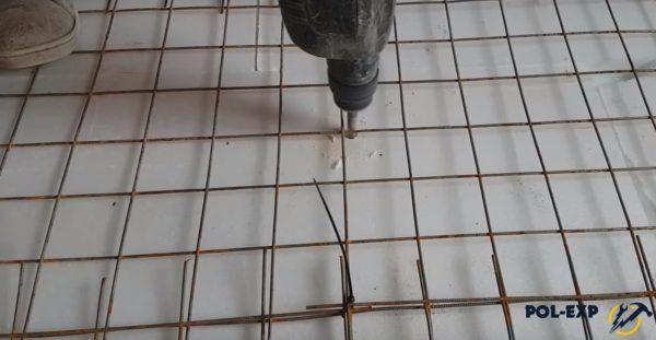 Сверление отверстий под крепежи