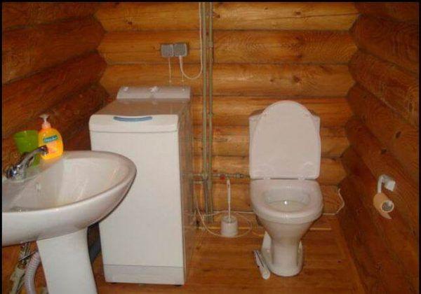 Унитаз в частном доме