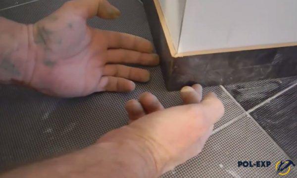 Стыковка плиток на внешнем углу