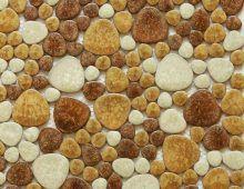Галечная каменная мозаика