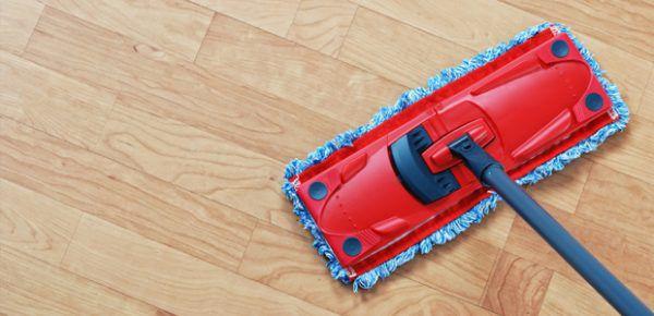 Как отмыть полы после ремонта от белого налета