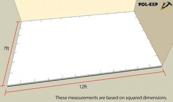 Определяются размеры помещения