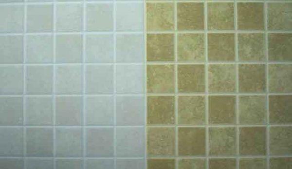 Покраска керамической плитки