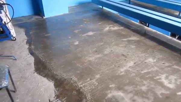 Процесс нанесения жидкого стекла