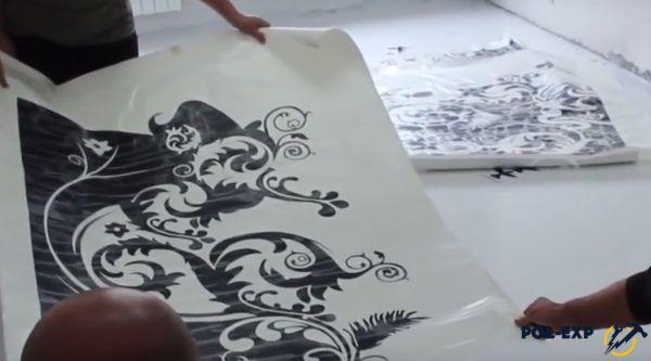 Рисунки для декорирования наливного пола