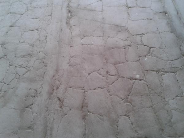 Старое бетонное основание