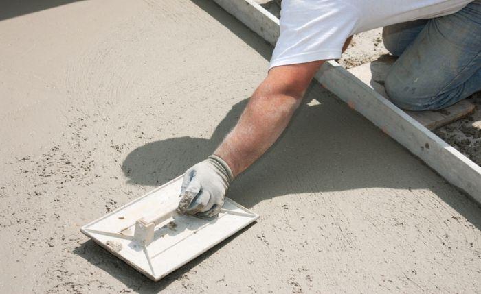 зачем железнят бетон