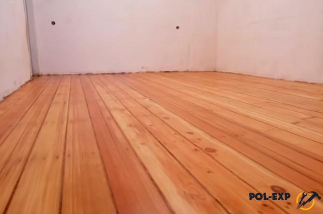Как выровнять деревянный пол не разбирая