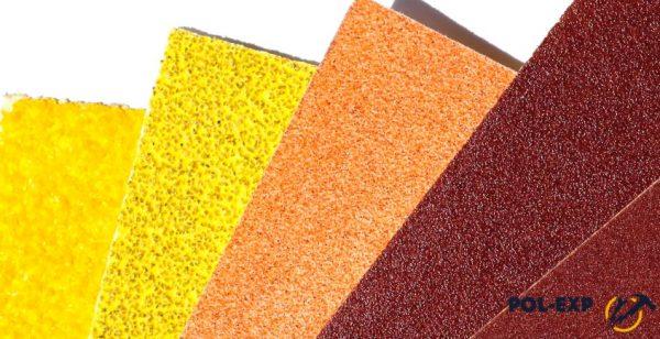 Три вида наждачной бумаги для шлифовальной машины