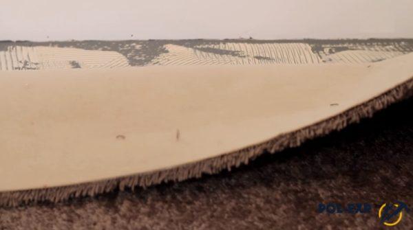 Укладка полотна на клей