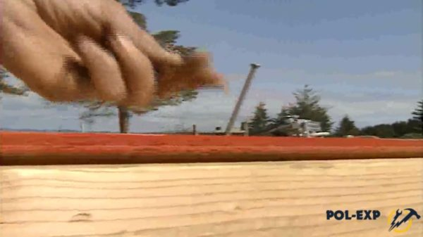 Забивание гвоздя
