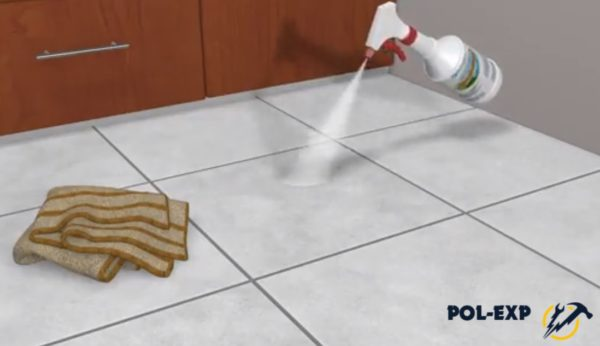 Для сильных загрязнений используются чистящие средства