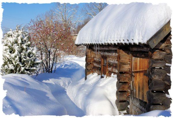 Если в бане нет отопления, вода накапливается в материалах стен, пола, а после циклов замерзания и размораживания происходит постепенное разрушение