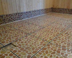 Финишная отделка бетонных полов