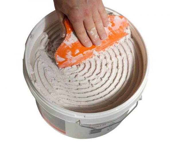 Готовая клеевая смесь для плитки