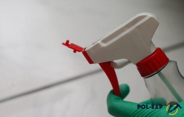 Использование пульверизатора