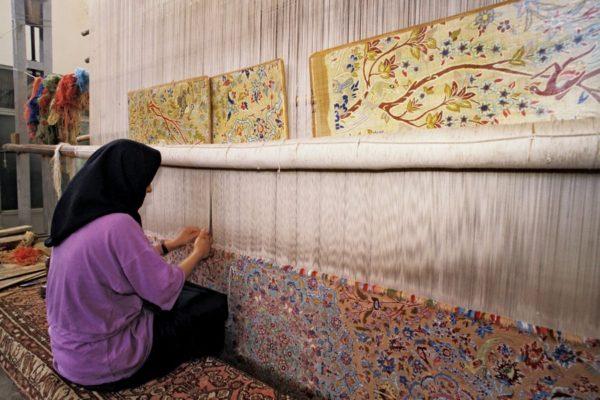 Изготовление ковра ручной работы