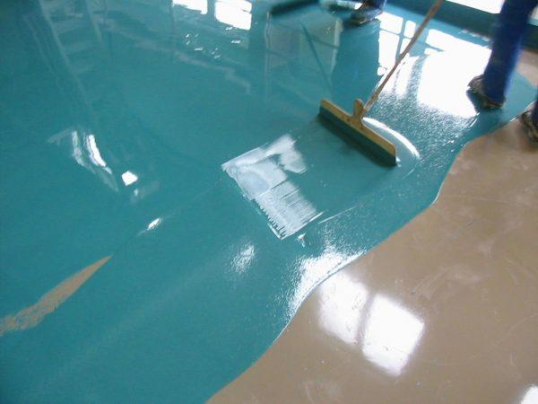 Изготовление наливного пола