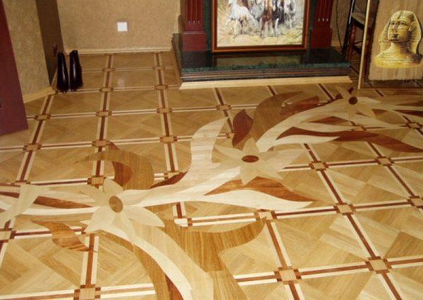 Линолеум на полу в квартире
