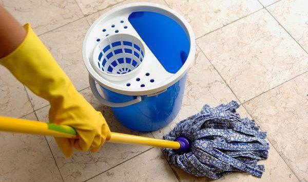 Как почистить плитку на полу