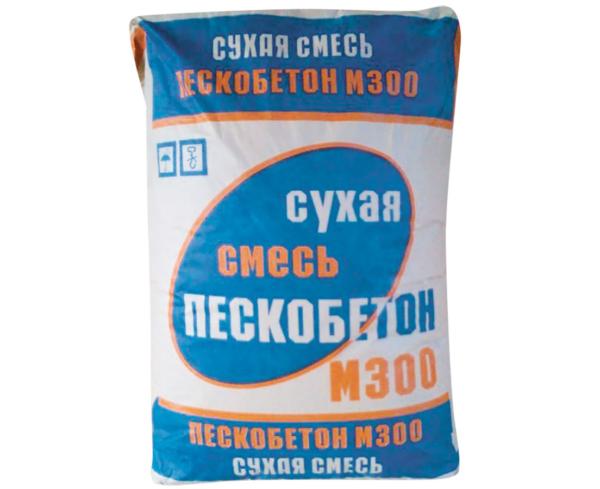 Пескобетон М300