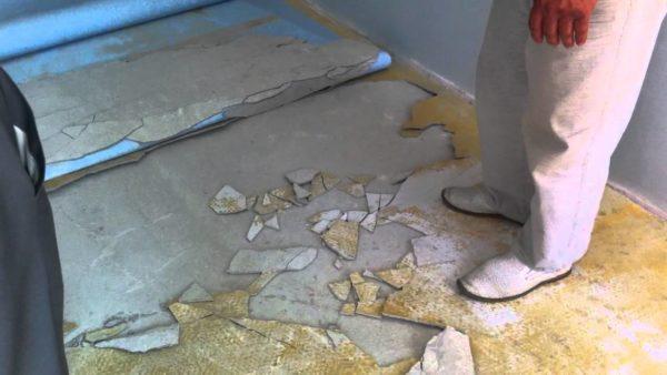 Подготовка основания под линолеум - важный этап ремонта