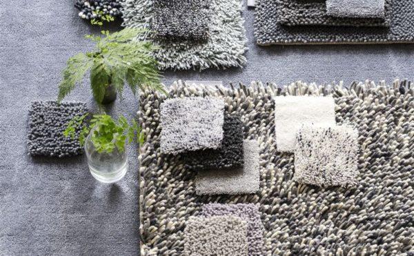 Полусинтетические ковры