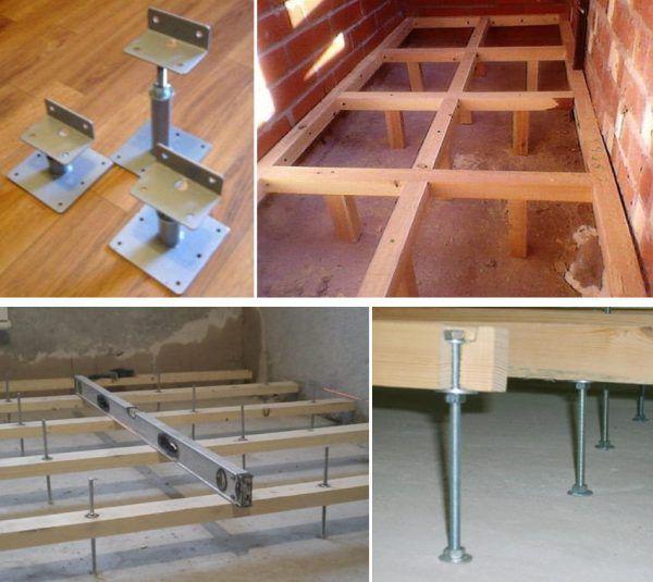 Способы, как выровнять пол на балконе и лоджии лагами