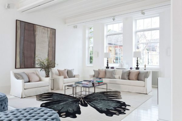 Стильный ковёр в гостиную