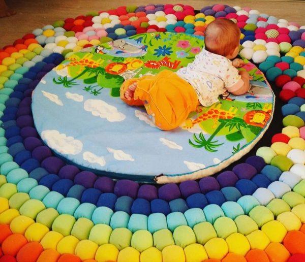 Так выглядит готовый коврик